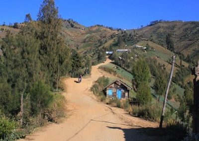 Rute dan Jalur menuju Puncak B29 Argosari Lumajang