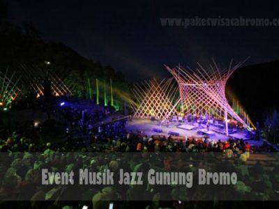 Event Musik Jazz Gunung Bromo