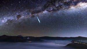 Fenomena Milky way di Gunung Bromo