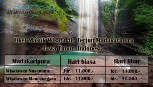 Harga Tiket Masuk Air Terjun Madakaripura