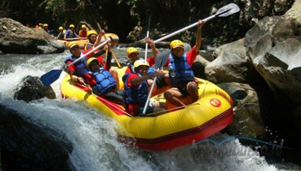 Objek Wisata Rafting Sungai Pekalen Probolinggo