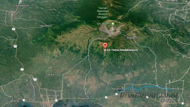 Rute dan Akses jalan Menuju Air Terjun Madakaripura