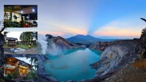 5 Rekomendasi Penginapan di kawasan wisata kawah Ijen