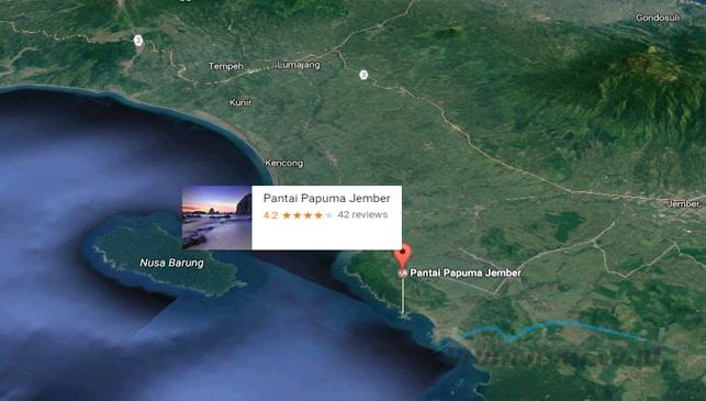 Rute Terbaik dan Akses Jalan Menuju Pantai Papuma
