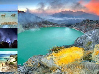 Paket Tour Wisata Kawah Ijen dan Pulau Menjangan 3 hari 2 malam