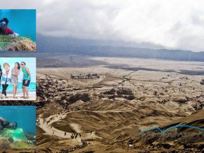 Paket Tour Wisata Bromo dan Snorkeling Gili Ketapang Murah